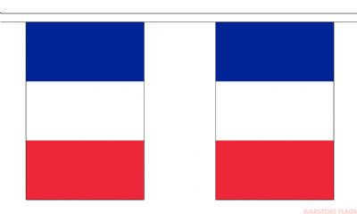 FRANCE BUNTING - 3 METRES 10 FLAGS